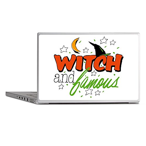 Laptop Notebook 13 Inch Skin Cover Halloween Witch and Famous Hat ()