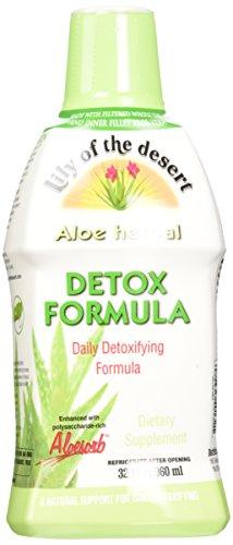 Aloe Vera Detox (Lily of The Desert Aloe Herbal Detoxifying Formula, 32 Fluid Ounce)
