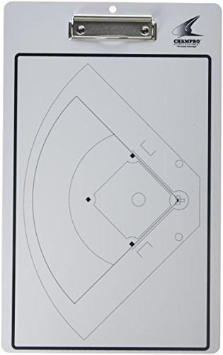 Champro Baseball/Softball Coaches Board (White)