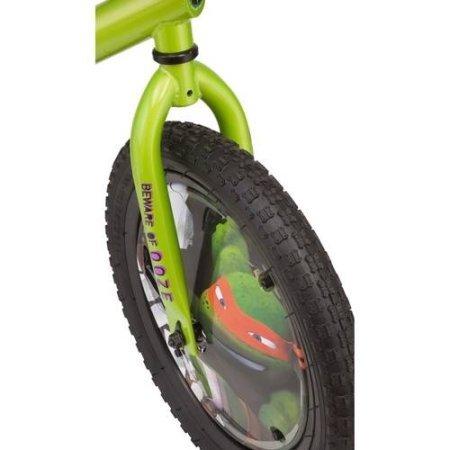 Teenage Mutant Ninja Turtles 16'' Boys' Bike with matching TMNT Raphael Helmet, TMNT Pads and Gloves, Bundle by Teenage Mutant Ninja Turtles (Image #7)