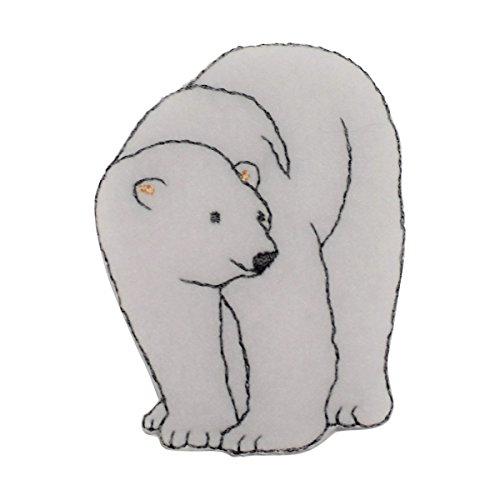 - Polar Bear Applique Patch (Iron On)