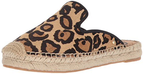 Sam Edelman Women's Kerry Mule New Nude Leopard 7 M US