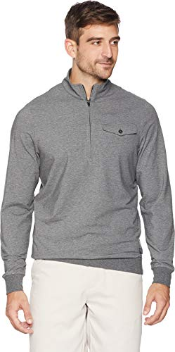 TravisMathew Men's The 805 Jacket Heather Dark Shadow -