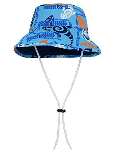 - Tuga Boys Bucket Hat (UPF 50+), Night, Large