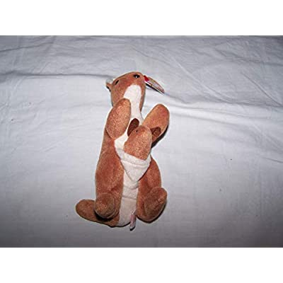 TY Beanie Baby Pouch the Kangaroo: Toys & Games