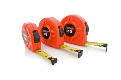 037103241108 - Lufkin L625 Lufkin 1-Inch by 25-Feet Hi-Viz Orange Power Return Tape carousel main 5