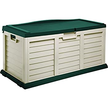 Amazon Com Starplast Deck Box With Sit On Cover 103