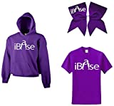 Chosen Bows iBase Super ComBow Hoodie, Purple, Adult Large