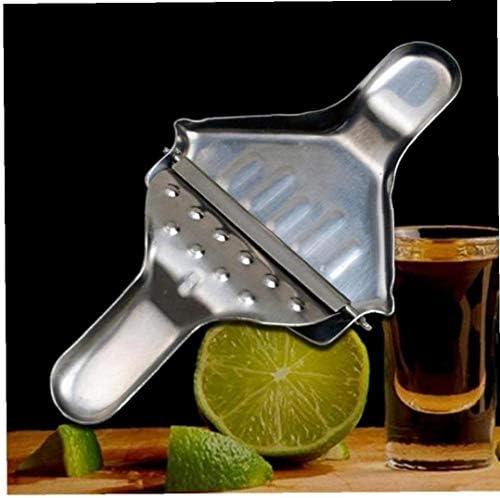 Exprimidor Exprimidor del Limón Hecho De Irrompible De Acero Inoxidable Manual Jugo De Limón Y Lima Exprimidor