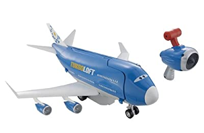 Cars 2 Rc Everett Transporter Jet from Mattel