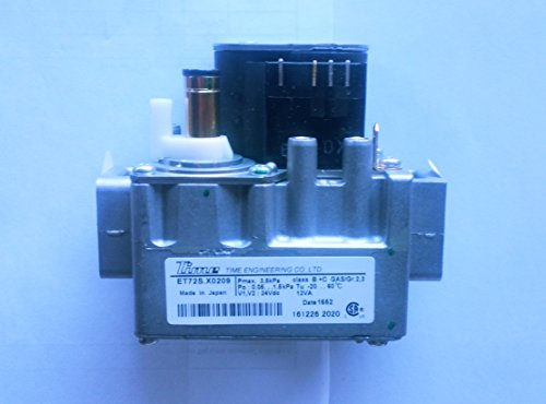 Navien Gas Valve ET72SX0209 for Tankless Water Heater, p/n 30011586A