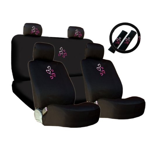 heart car seat covers civic - 6