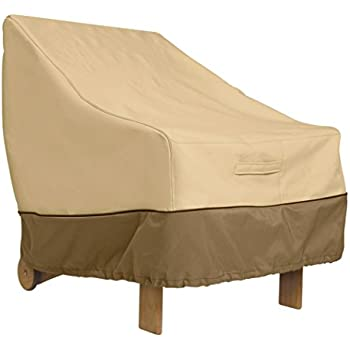 Classic Accessories Veranda Patio Lounge/Club Chair Cover   Durable And Water  Resistant Patio Furniture