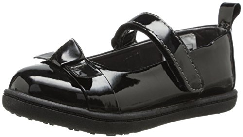 Flat (Toddler/Little Kid/Big Kid),Black Patent,9 M US Toddler (Carters Toddler Boys Pull)