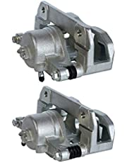 AutoShack BC29724PR Pair Set of 2 Front Driver and Passenger Side Disc Brake Caliper Assembly Replacement for 2003-2012 Honda Accord 1999-2004 Acura RL 1999-2008 TL 2001-2003 CL 2004-2014 TSX 3.5L FWD