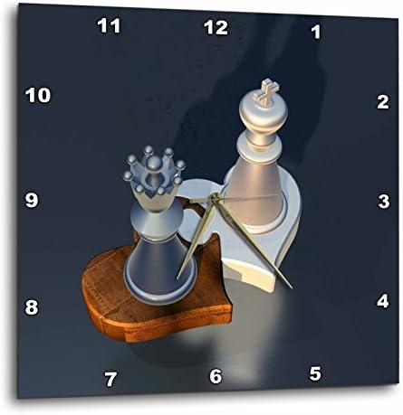 3dRose Chess Game Play Casino Hobby Wall Clock