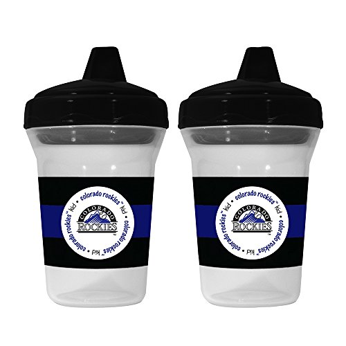 (MLB Colorado Rockies Sippy Cups, 2-Pack)