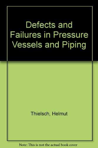 Defects and Failures in Pressure Vessels and Piping