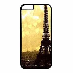 Hard Back Cover Case for iphone 6 Plus,Cool Fashion Black PC Shell Skin for iphone 6 Plus with White Tiger