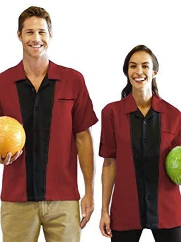 Hilton Bowling Retro Monterey (Cranberry_Black) (M)