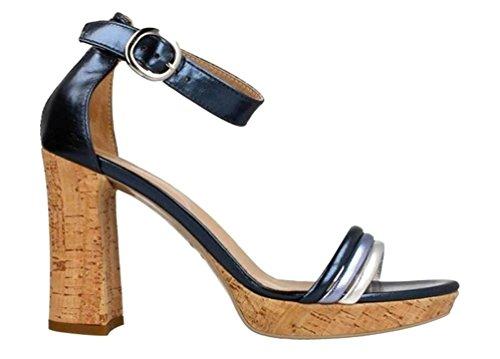 Blau Sandalen NeroGiardin P805845D Elegant Absatzschuhe Schuhe Y4q8q5w