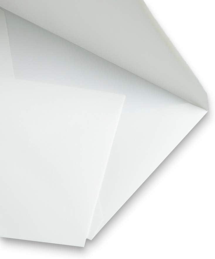 229 x 324 mm ohne Fenster halbmatt DIN C4 nassklebend 145 g//qm ohne Futter mit nat/ürlichen B/üttenr/ändern 100 St/ück Echt B/ütten Briefumschl/äge spitze Klappe wei/ß