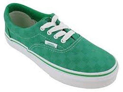 Vans Mocasines de Lona para niño Verde verde, color Verde, talla 35 EU: Amazon.es: Zapatos y complementos