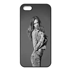 Celebrities Mona Johannesson iPhone 5 5s Cell Phone Case Black Exquisite gift (SA_682407)