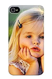 Blackducks Premium Protective Hard Case For Iphone 4/4s- Nice Design - Cute Lile Baby Girl