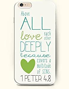 Case Cover For LG G3 Hard Case **NEW** Case with the Design of Above all love each other deeply because covers a multitude of sins 1 Peter 4.8 - Case for iPhone Case Cover For LG G3 (2014) Verizon, AT&T Sprint, T-mobile