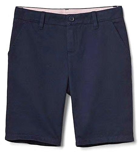 Gap Kids Girls Navy Twill Bermuda School Uniform Shorts (Gap Girls Shorts)