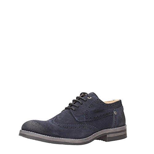 Wrangler Stone, Zapatos de Cordones Derby para Hombre Dark Navy