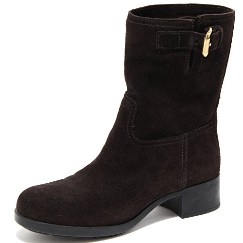 Shoes Donna Stivale 61943 Stivaletto Boots Women Prada Marrone Brown nBqBYwx6vz