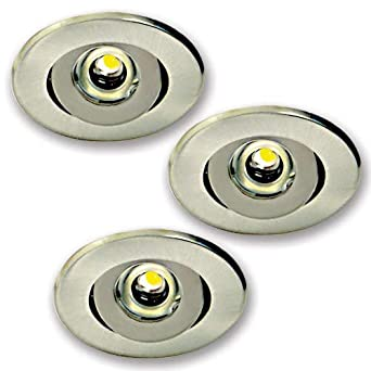 Elco Lighting E341n Mini Led Recessed Under Cabinet Light