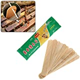 Haven Shop 10 Pcs Bag Beehive Killer Acaricide Beekeeping Insect Repel Control Durable Wooden Sheet Prevent Bite Effective for Bee Case Box Tools