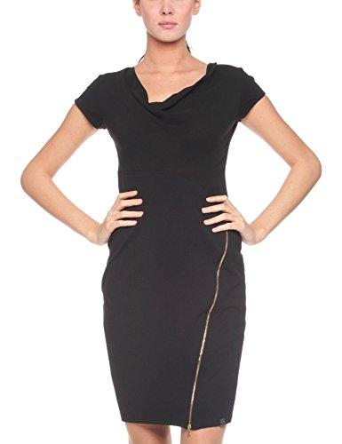 Les Sophistiquees Abito Corto, Vestido para Mujer Negro