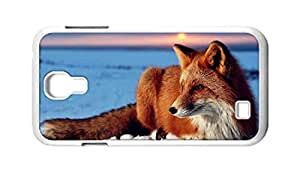 Cool Painting fox Snap-on Hard Back Case Cover Shell for Samsung GALAXY S4 I9500 I9502 I9508 I959 -301