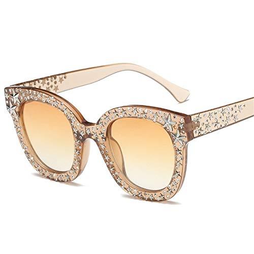 d'étoile de lunettes A et 140 de lunettes montent de soleil des Unis cadre Etats soleil femmes de 45mm les NIFG de L'Europe rondes 140 ZgqSpgT