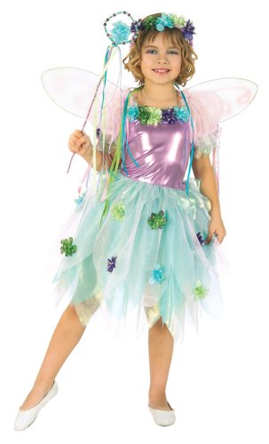 [Let's Pretend Child's Garden Fairy Costume, Small] (Child Flower Fairy Costume)