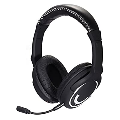 HUHD 2.4Ghz Wireless Gaming Headset Noice Cancelation Hans-free Headphone with Detachable Microphone for Xbox 360, PS4, PS3, TV Professional Gamer Use