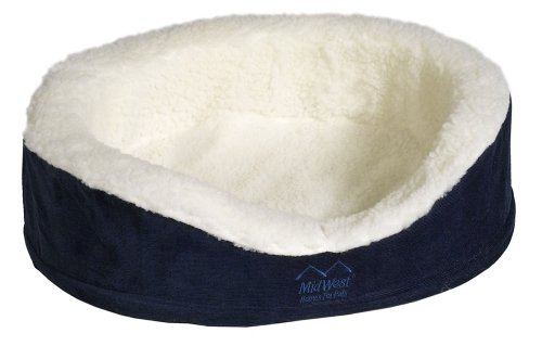 Quiet Time e'Sensuals Orthopedic Bolster Dog Bed, Extra Larg