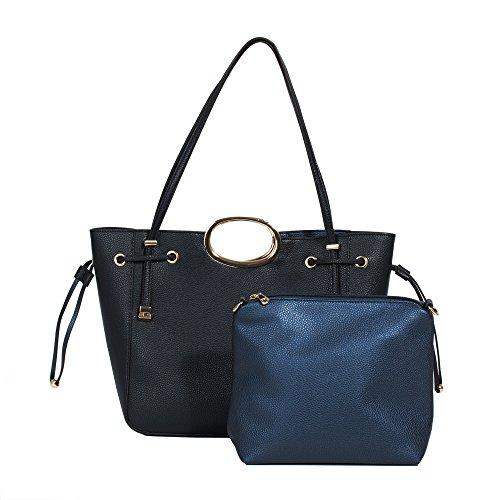 Navy Parfois Handbag Valeria Parfois Women Valeria XpBHqRww