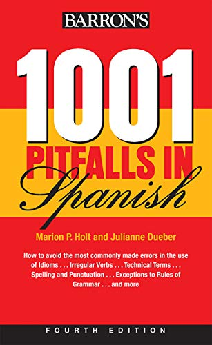 1001 Pitfalls In Spanish (Barron's Foreign Language Guides)