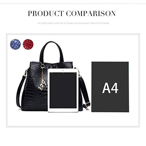 cuir bandoulière capacité composite mode femmes à unique à Simple sac Les sac de grande PU en la bandoulière bandoulière crocodile sac sac à à Yq68wwx4H