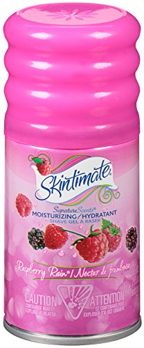 Skintimate Signature Scents Moisturizing Shave Gel for Women Raspberry Rain with Vitamin E and Olive Butter - 2.75 Ounce (Pack of 12)
