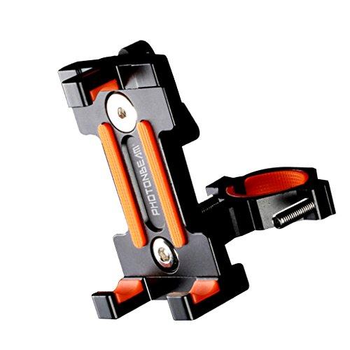 Baosity 耐久性 互換性 ユニバーサル バイク 自転車ハンドルバーホルダー 携帯電話 GPS用