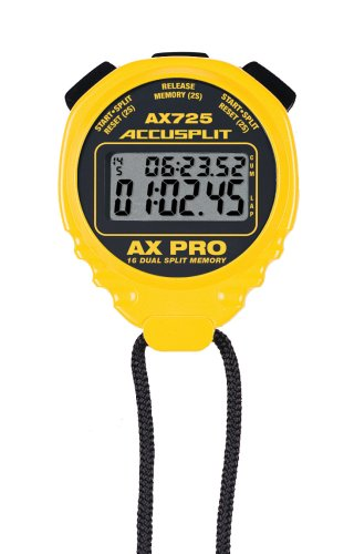 ACCUSPLIT AX725 Dual Memory Stopwatch product image