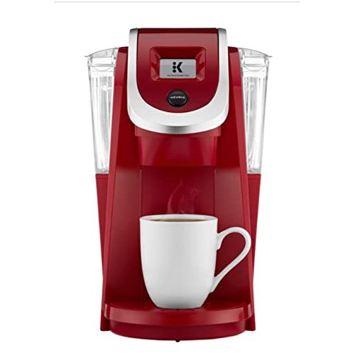 Image of Keurig K200 Plus Series 2.0 Single Serve Plus Coffee Maker Brewer- Imperial Red (New Color) Home Improvements