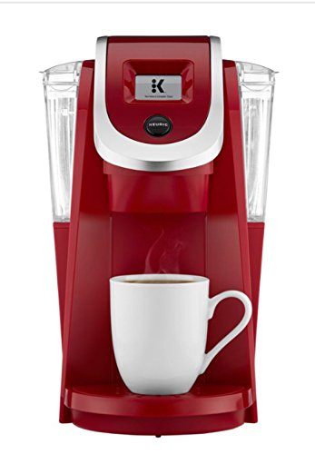 Keurig K200 Plus Series 2.0 Single Serve Plus Coffee Maker Brewer- Imperial Red (New Color) ()
