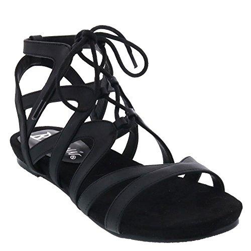 Sandalia Para Mujer Bellini Nickel Black